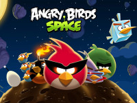 Fondo de Angry Birds Space
