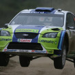 Fondo de Rally de Ford Focus