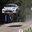Fondo de Ford Focus Rally volando