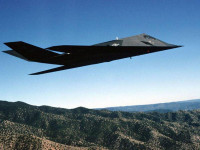 Fondo de Avion Caza Stealth