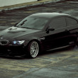 Fondo de BMW Burnout Negro en HD