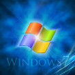 Fondo de windows seven azul