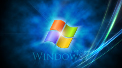 Descargar Fondo de windows seven azul