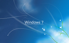 Descargar Fondo de escritorio windows 7 azul